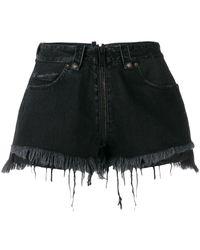 Unravel Project Cotton Shorts - Black
