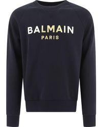 Balmain Other Materials Sweatshirt - Black