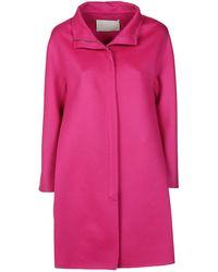 Fabiana Filippi Fuchsia Wool Coat - Pink