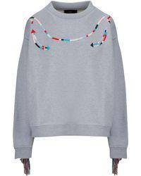 Alanui Grey Sweatshirt