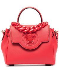 Versace Kleine La Medusa Handtasche - Rot