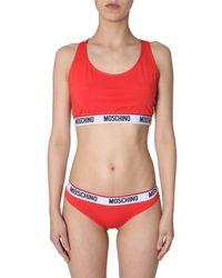 Boutique Moschino Red Polyester Bikini