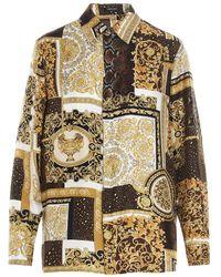 Versace Women's A826621f004565n030 Multicolour Other Materials Shirt