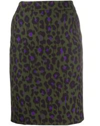 Boutique Moschino Polyester Skirt - Green
