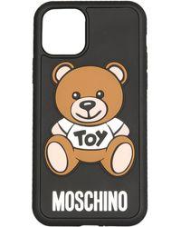 Moschino Rubber Cover - Black