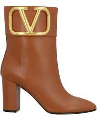 Valentino Garavani Valentino Garavani Ankle Boots - Brown