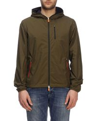 Save The Duck Green Polyester Outerwear Jacket
