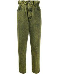 Miu Miu Cotton Jeans - Yellow