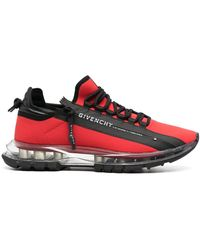 Givenchy Polyamide Trainers - Red