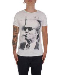 1921 Jeans 007ss4343 baumwolle t-shirt - Weiß