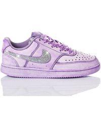 Nike Washedcrystal2069 leder sneakers - Lila