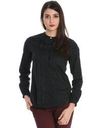 Xacus Cotton Shirt - Black