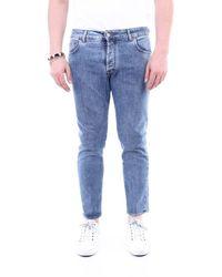 Entre Amis Cotton Pants - Blue