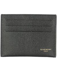 Givenchy Leather Card Holder - Black