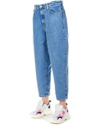 Guess Light Blue Synthetic Fibres Jeans