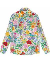 Gucci - X Ken Scott Floral-print Shirt - Lyst