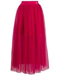 adidas Fuchsia Skirt - Red