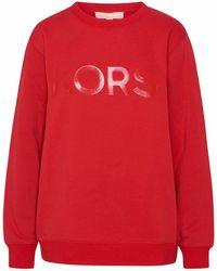 Michael Kors Ms1501i23g609 Cotton Sweatshirt - Red