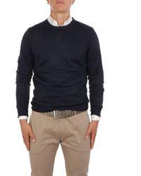 Brooksfield - Blue Wool Sweater - Lyst