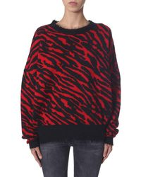 Unravel Project - ROT WOLLE PULLOVER - Lyst
