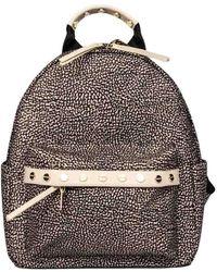 Borbonese Backpack - Brown