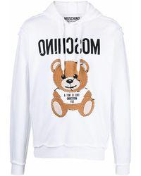 Moschino Cotton Sweatshirt - White