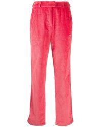 adidas Corduroy Side-strip Trousers - Pink