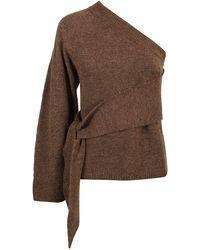 Nanushka Acrylic Sweater - Brown