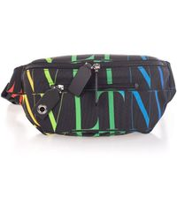 Valentino Garavani Other Materials Belt Bag - Black