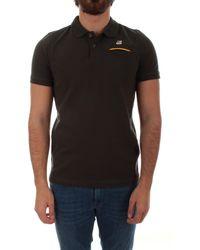 K-Way Cotton Polo Shirt - Black