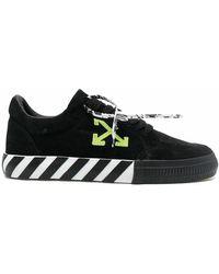 Off-White c/o Virgil Abloh Vulcanized Sneakers - Schwarz