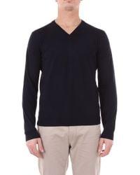 Zanone Blue Wool Jumper