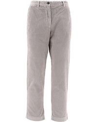 Woolrich Grey Cotton Jeans - Gray