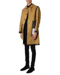 Mackintosh Brown Cotton Coat