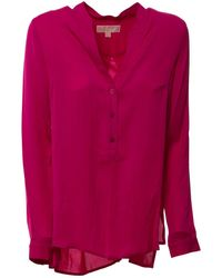 Michael Kors Fuchsia Silk Shirt - Multicolor