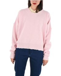 Unravel Project WOLLE SWEATER - Pink