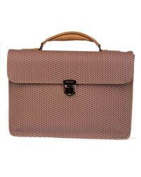 Zanellato - Brown Leather Briefcase - Lyst