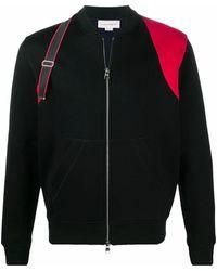 Alexander McQueen Cotton Sweatshirt - Black