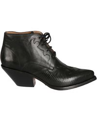 Buttero B8109varadc01 Leather Ankle Boots - Black