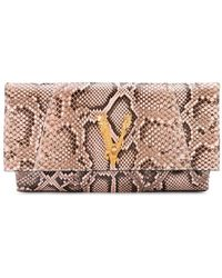 Versace LEDER POUCH - Pink