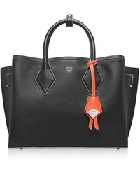 MCM Leather Handbag - Black