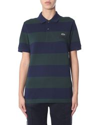 Lacoste Cotton Polo Shirt - Blue