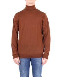 Altea Brown Wool Sweater