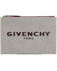 Givenchy Viscose Pouch - Natural
