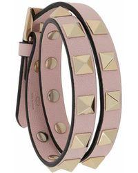 Valentino Garavani 'Rockstud' Armband - Pink