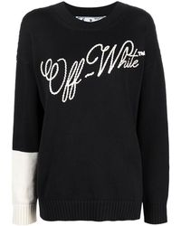 Off-White c/o Virgil Abloh - ANDERE MATERIALIEN SWEATER - Lyst