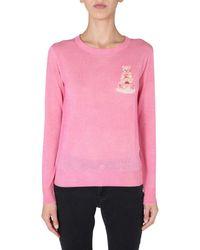 Moschino SWEATER - Pink