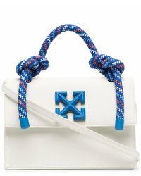 Off-White c/o Virgil Abloh Leather Handbag - White