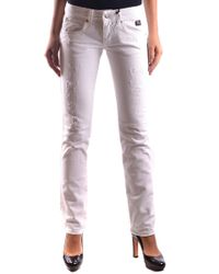 Roy Rogers White Cotton Jeans