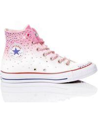 Converse STOFF HI TOP SNEAKERS - Pink